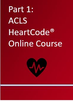 Part 1: ACLS HeartCode Online Course Banner