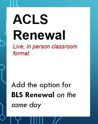 ACLS RENEWAL (2532) Banner