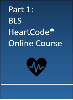 Part 1: BLS HeartCode Online Course Banner