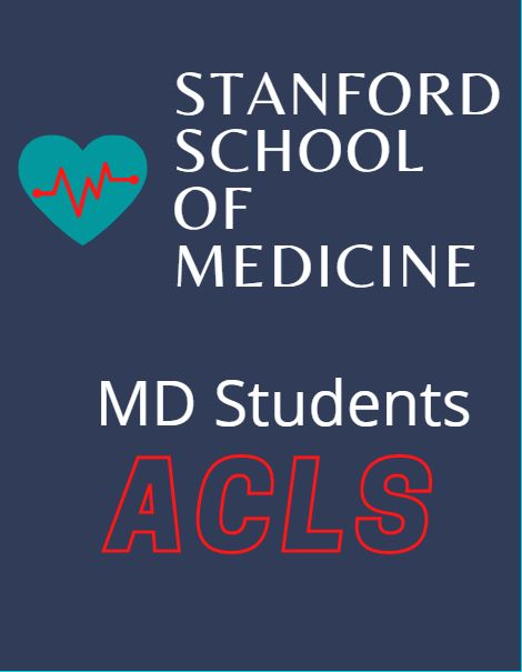 Stanford School of Medicine MD Program ACLS Banner
