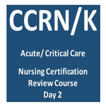 CCRN Certification Review Day 2 Banner